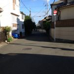 紫野泉堂町 周辺道路